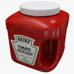 ketchup bottle v3 3ds