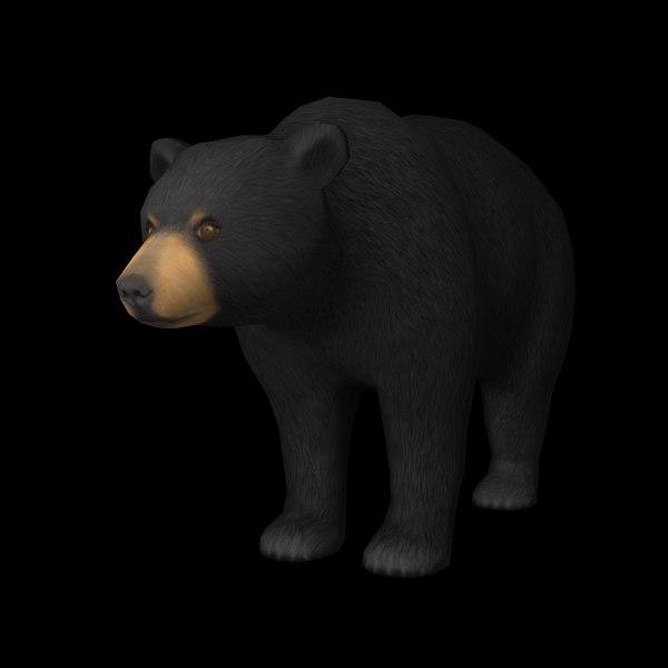 bear edge 3d max