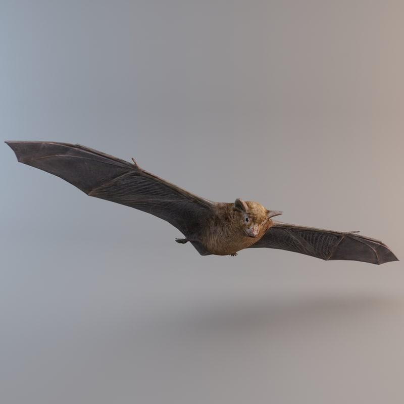3ds max brown bat