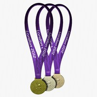 2012 london olympic medals 3d lwo