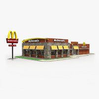 mcdonald s restaurant building max