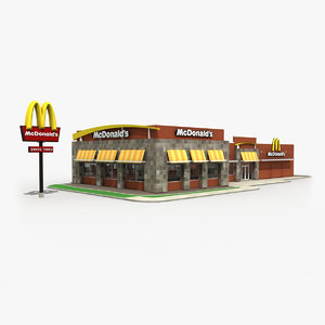 mcdonald s restaurant building max
