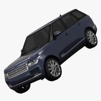 land rover range l40 3d model