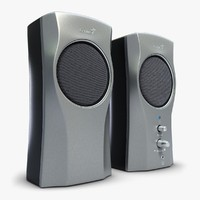 music speakers genius 2 3d max