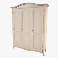 wardrobe vittorio grifoni - 3d model