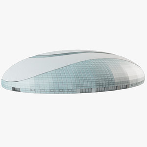 3dsmax ice dome olympic