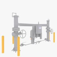 3d main line valve