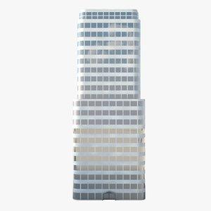model skyscraper modeled