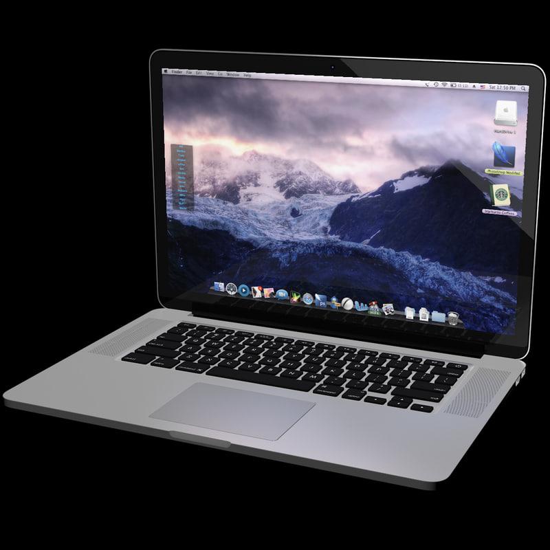 3d 3ds macbook pro retina display