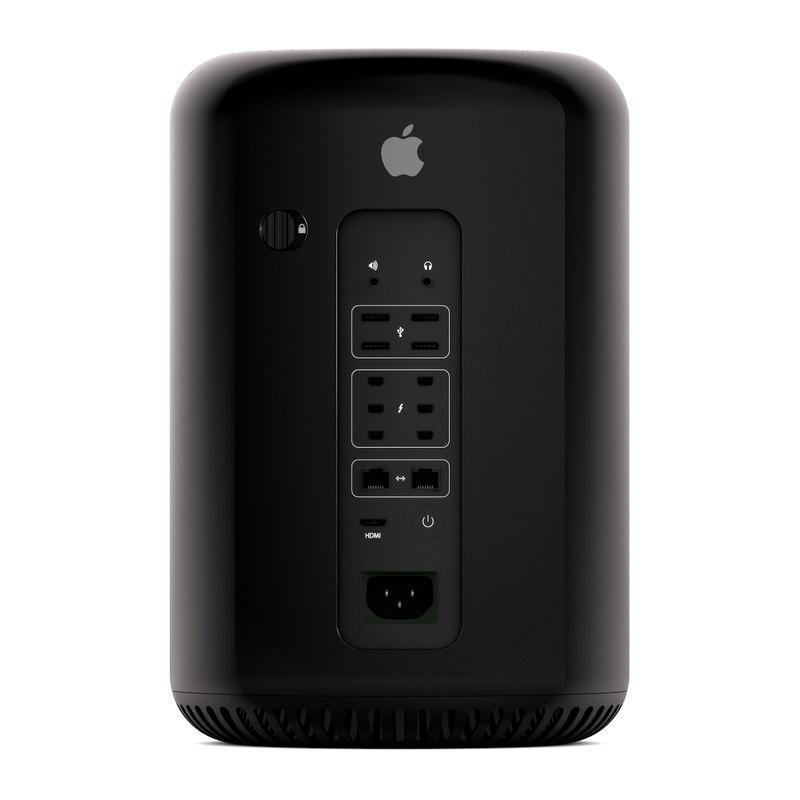 3d model apple mac pro 2013