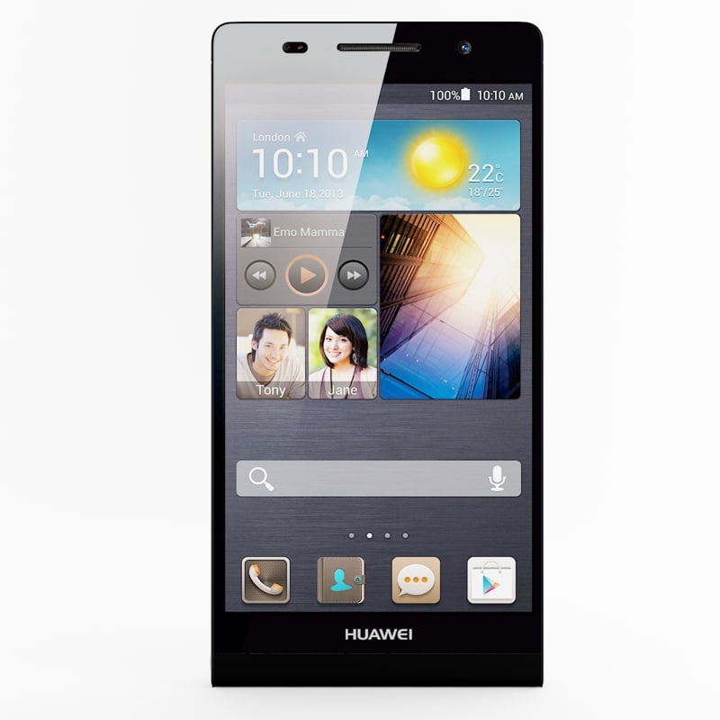 3d model of huawei ascend p6