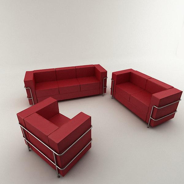 max real modern leather sofa