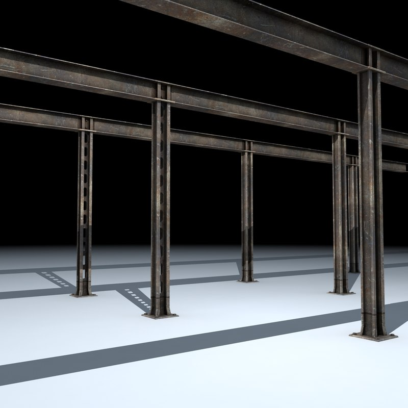structural support columns max