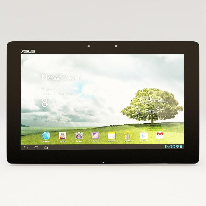 tablet asus transformer pad 3d model