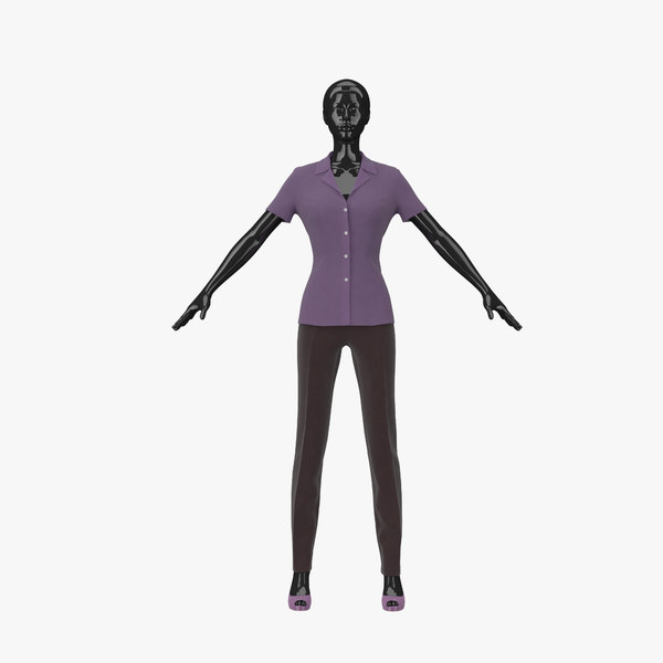 3d showroom mannequin 06 model