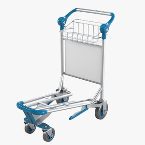 baggage cart 3ds