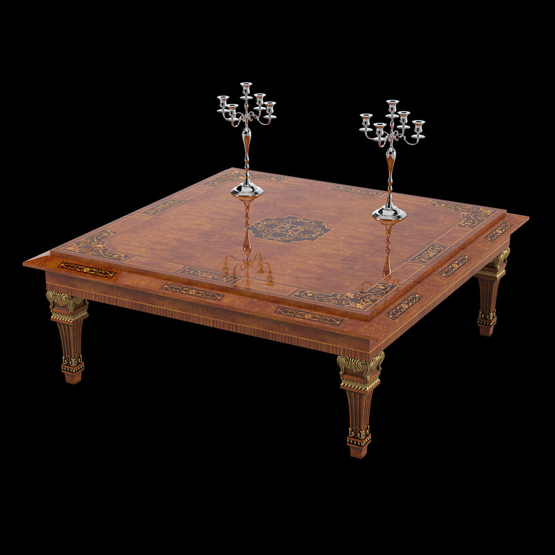 Empire Coffee Table Rho A819 Coffee Table 3d Max