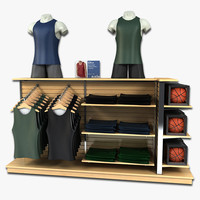 clothing basketball gear 3d 3ds