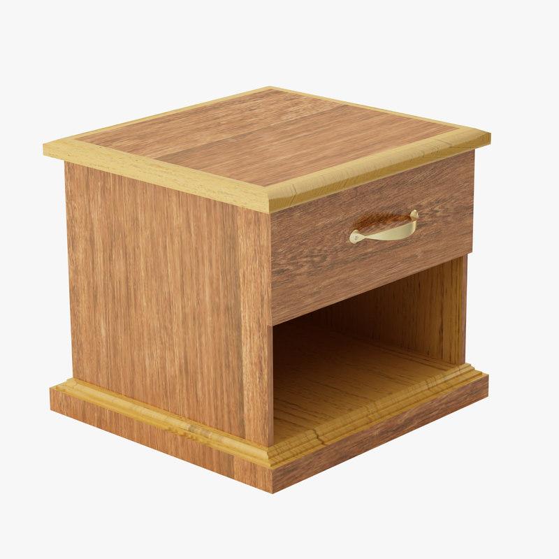 drawer furniture 3d max