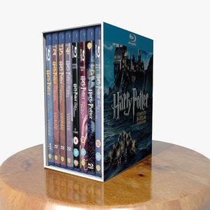 3d dvd harry potter