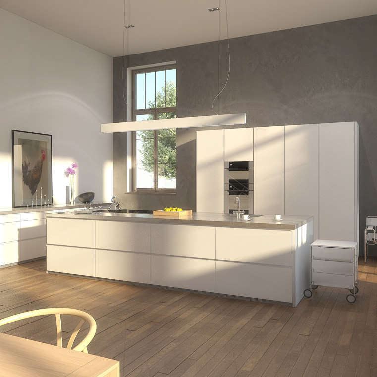 3ds max modern kitchen for Kitchen furniture 3ds max free