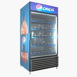 3ds max pepsi cooler