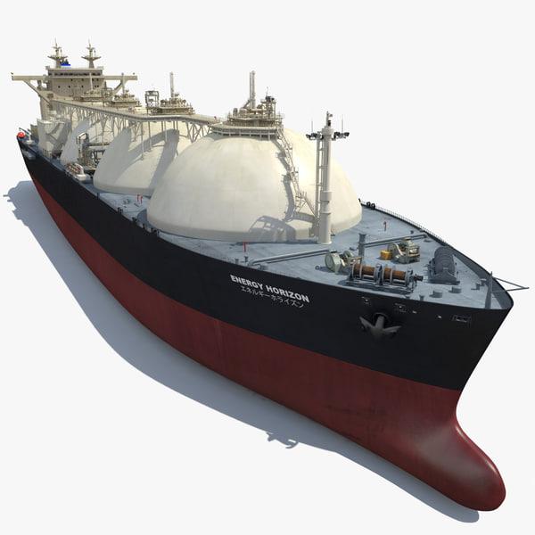 3d lng carrier