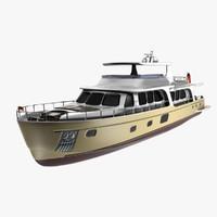 yacht 100 vicem 3d model