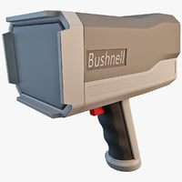 3d model bushnell speedster iii radar