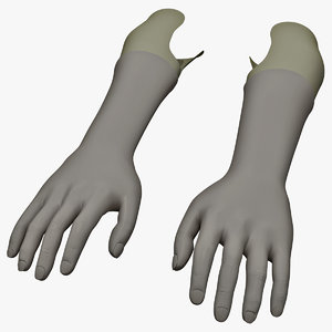 3ds prosthetic hands