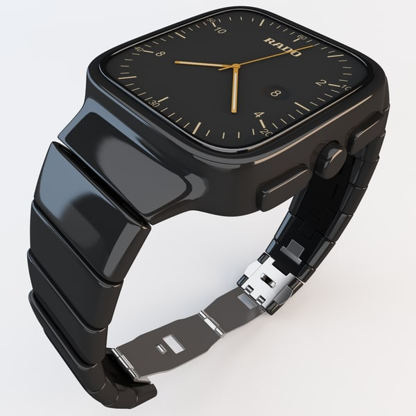 3d Rado Watch Model