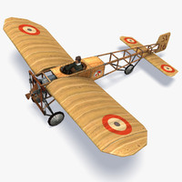 3d xi aircraft model