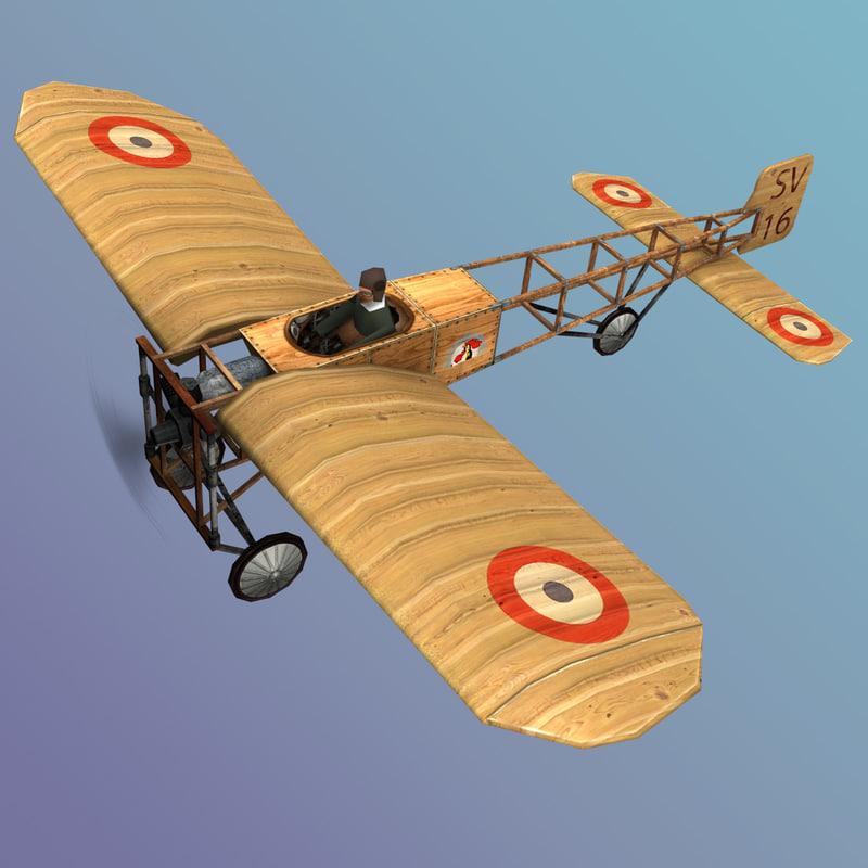 3d xi aircraft model