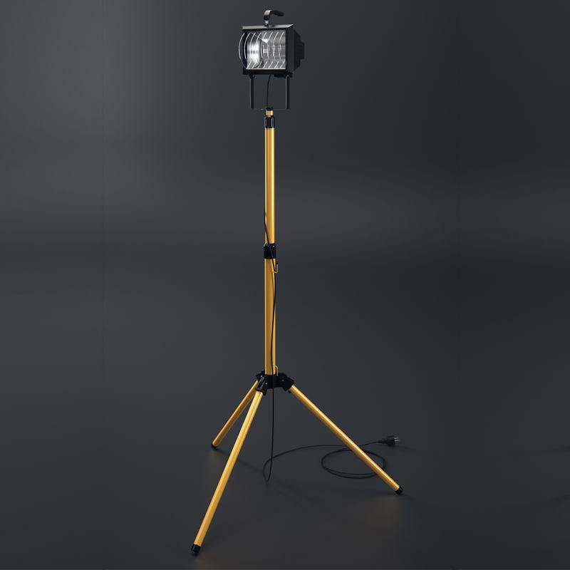 construction light 3d model