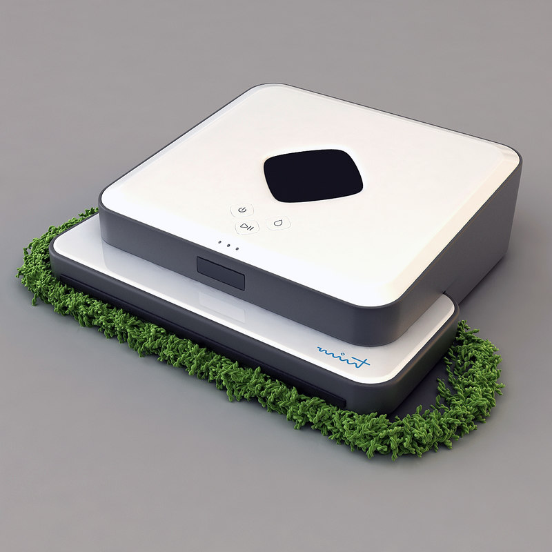x evolution robotics mint cleaner
