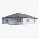 Bungalow 3D models