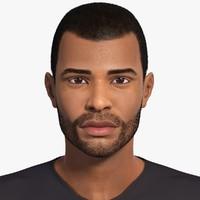 Wayne (Afro-American Man) No Rig