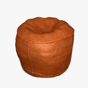 bean bag chair 2 3d max