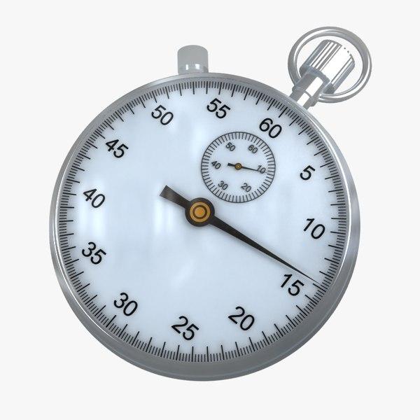 max stopwatch modelled