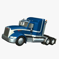 Peterbilt 386 High Bunk