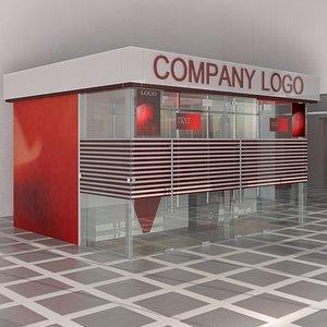 banking office furniture obj