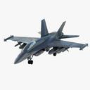 Boeing EA-18G Growler 3D models
