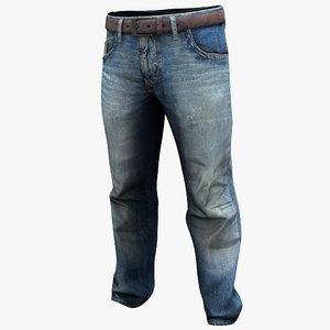 jeans 2 3d max