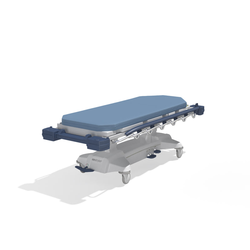 max stryker medical stretcher