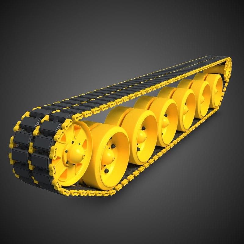 3d tank track 2