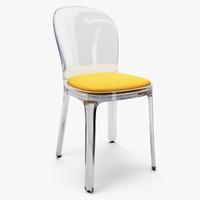 vanity chair magis 3d model