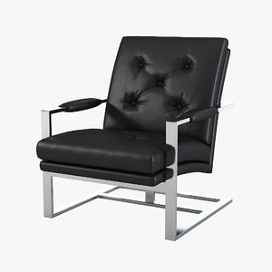 3d t lounge chair