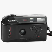3d model canon novacam