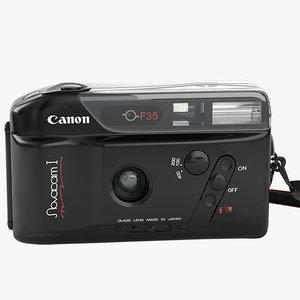 3d model canon novacam