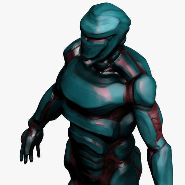 3ds max cyborg cyclops